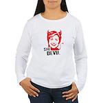 She Devil Women's Long Sleeve T-Shirt