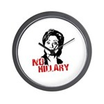 Anti-Hillary: No Hillary Wall Clock