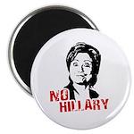 Anti-Hillary: No Hillary Magnet