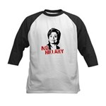 Anti-Hillary: No Hillary Kids Baseball Jersey