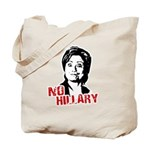 Anti-Hillary: No Hillary Tote Bag