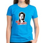 Anti-Hillary: No Hillary Women's Dark T-Shirt