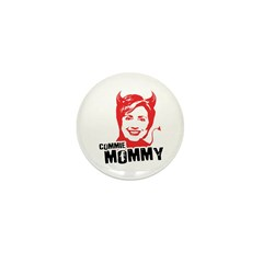 Anti-Hillary: Commie Mommy Mini Button (100 pack)