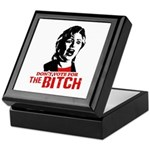 Just say nyet / Anti-Hillary Keepsake Box