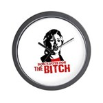 Just say nyet / Anti-Hillary Wall Clock