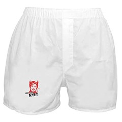 Just say nyet Boxer Shorts