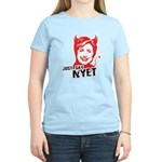 Just say nyet Women's Light T-Shirt