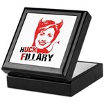 Huck Fillary Keepsake Box