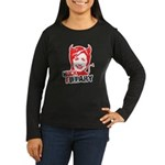Huck Fillary Women's Long Sleeve Dark T-Shirt