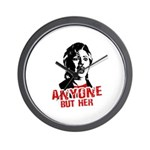 Anyone but Hillary Wall Clock