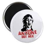 Anyone but Hillary Magnet