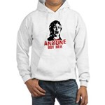 Anyone but Hillary Hooded Sweatshirt