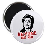Anti-Hillary: Anyone but her Magnet