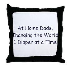 At Home Dad Throw Pillow