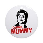 Commie Mommy Ornament (Round)