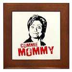 Commie Mommy Framed Tile