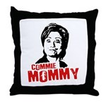Commie Mommy Throw Pillow