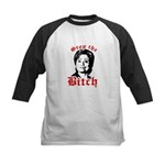 Anti-Hillary: Stop the Bitch Kids Baseball Jersey