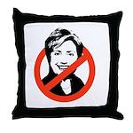 Anti-Hillary Throw Pillow