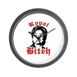 Royal Bitch / Anti-Hillary Wall Clock