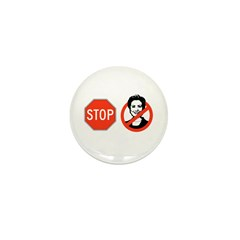 Stop Hillary Mini Button (100 pack)