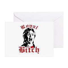 Royal Bitch Greeting Card