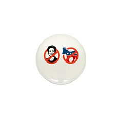 Anti-Hillary & Anti-Ass Mini Button (10 pack)