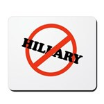 No Hillary Mousepad