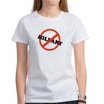 No Hillary Women's T-Shirt