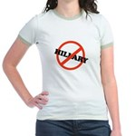 No Hillary Jr. Ringer T-Shirt