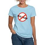 No Hillary Women's Light T-Shirt