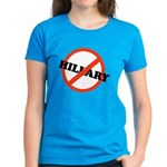 No Hillary Women's Dark T-Shirt