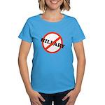 No Hillary Women's Dark T-Shirt
