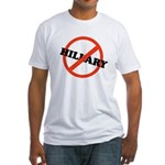 No Hillary Fitted T-Shirt