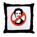 AntiHillary Throw Pillow