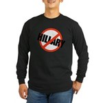 Anti Hillary Long Sleeve Dark T-Shirt