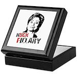 Anti-Hillary: Huck Fillary Keepsake Box