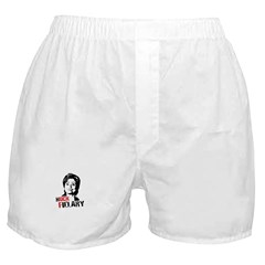 Anti-Hillary: Huck Fillary Boxer Shorts
