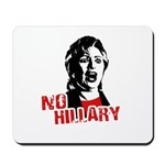 No Hillary / Anti-Hillary Mousepad
