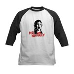 No Hillary / Anti-Hillary Kids Baseball Jersey