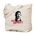 No Hillary / Anti-Hillary Tote Bag