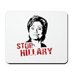Anti-Hillary: Stop Hillary Mousepad