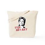 Anti-Hillary: Stop Hillary Tote Bag