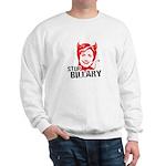 Anti-Hillary: Stop Billary Sweatshirt