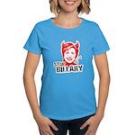 Anti-Hillary: Stop Billary Women's Dark T-Shirt