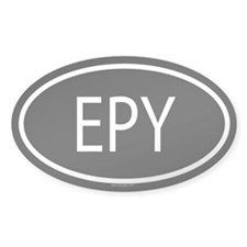 EPY Oval Decal