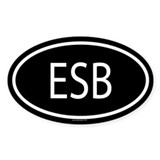 ESB Oval Decal