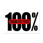 100 Percent Trans Fat Free Mini Poster Print