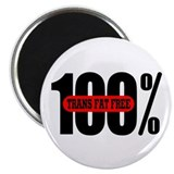 100 Percent Trans Fat Free Magnet