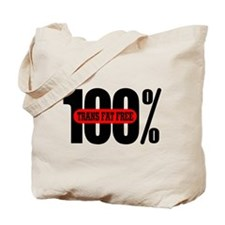 100 Percent Trans Fat Free Tote Bag